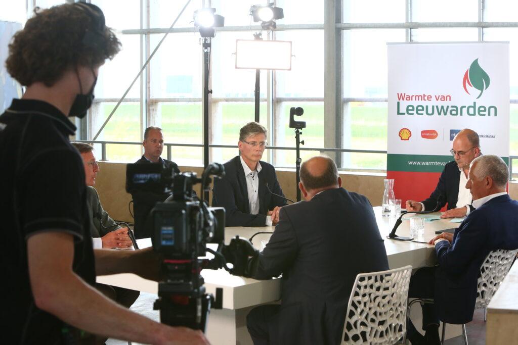 Online startbijeenkomst vanuit Dairy campus Leeuwarden